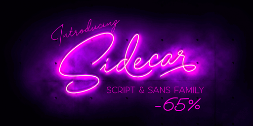 Download Sidecar Fonts by Fenotype