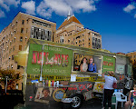 """DREAMSCAPE: Ed and Merci park their food truck outside Kings County Hospital. (Calling the food truck """"Nuts 4 Nuts""""  was a suggestion of Merci"""