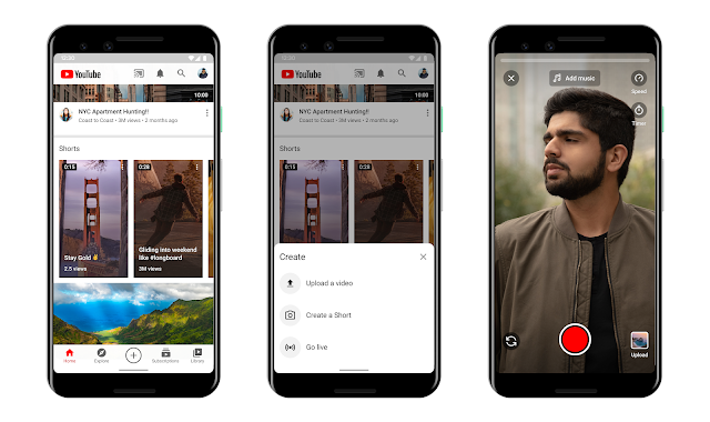 Youtube shorts will allow users to use audio form Youtube videos.