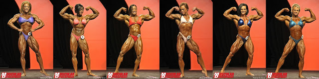 Ms. Olympia 2011 second callout