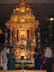 Mangadu temple Golden Chariot