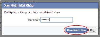 Chán Facebook - Cách khóa nick tài khoản Facebook một thời gian + Hình 5