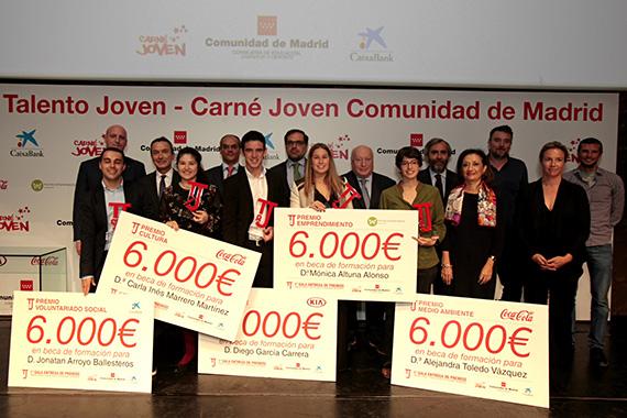Premios Talento Joven de la Comunidad de Madrid