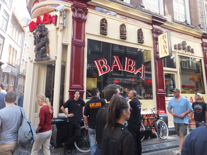 Coffee Shops, Quartier Rouge, Amsterdam, Pays Bas
