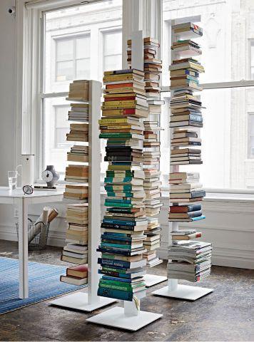 Libreria sapiens sintesi h152 colore bianco acquista for Sedie design libreria sapiens