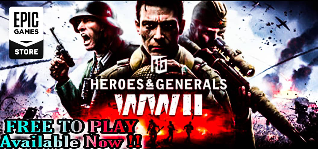 Top 5 free to play games, heroes and generals ww2