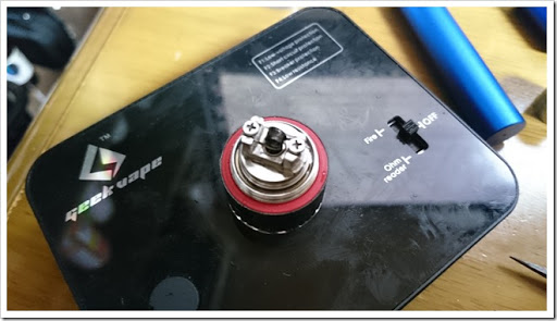 DSC 0832 thumb%25255B3%25255D - 偽TOPTANK(トップフィル)とチタンコイル(VTC Mini)で温度管理を楽しむ