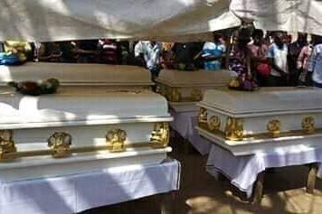 VILLAGERS ORDERED THE CORPSE OF MRS. RACHAEL ADETSAV BE SET ON FIRE