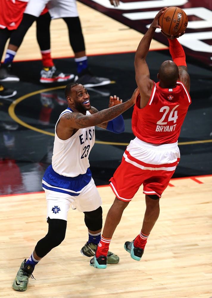 King James Wears Nike LeBron 13 in 2016 NBA All-Star Game ...