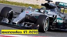 mercedes team f1 2016