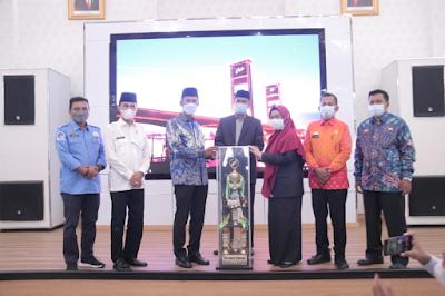 Walikota Palembang Sambut Kepulangan 20 Kafilah  Juara Umum STQH