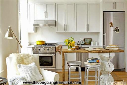 Những thiết kế thông minh cho nhà bếp nhỏ hẹp - <strong><em>Thiết kế nội thất</em></strong>-1