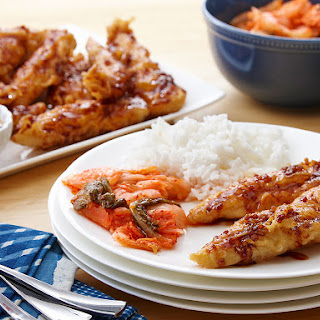 Honey Ginger Korean Fried Chicken