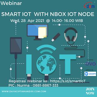 Webinar Smart Internet of Things dengan NBox IoT Node - 28 April 2021