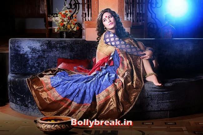 Poonam Pandey's Diwali Photoshoot