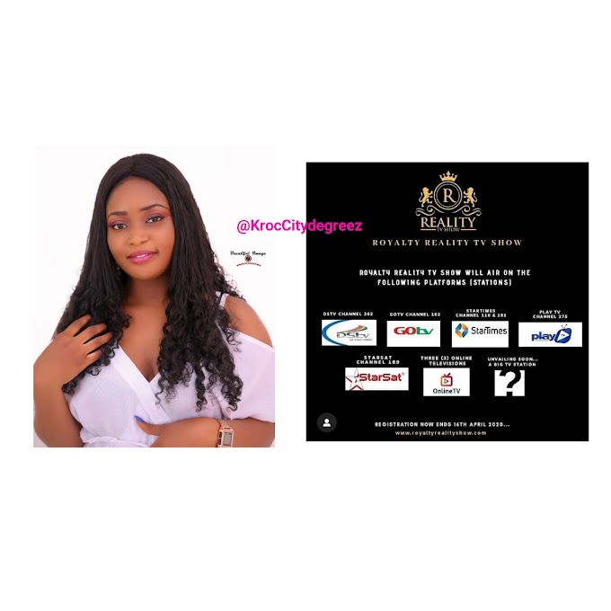 """Kaduna Based Enterpreneur """"Endurance Bulus"""" Solicites Support As She Qualifies For """"Royalty Reality TV Show"""""""