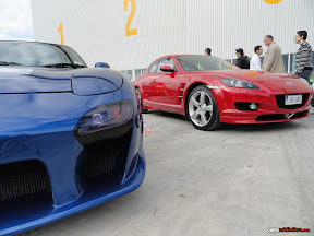 Mazda RX7 and RX8