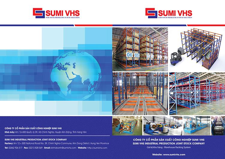 Mẫu catalogue của công ty SUMI VHS