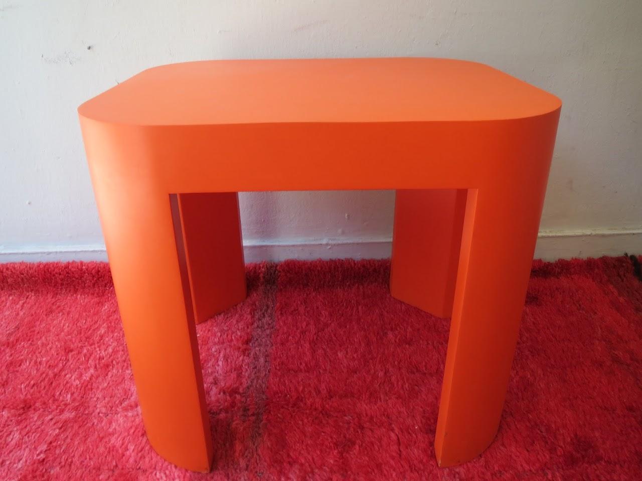 orange end table  shophousingworks -