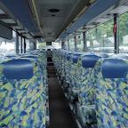 Het interieur van de Setra van Besseling Travel bus 504