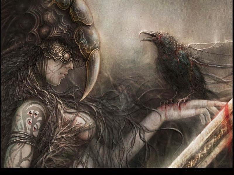 Raven On Bloody Hand, Ravens