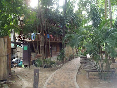 Our second attempt on Railay- Princess Resort Budget Wing. Great location but too loud!