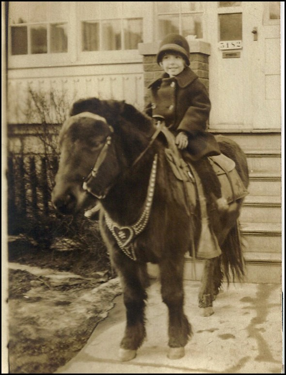 MILNE_Patricia_on a pony_enh