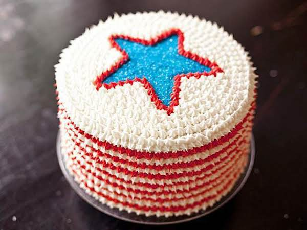 Best 4th Of July Red, White And Blue Velvet Cake