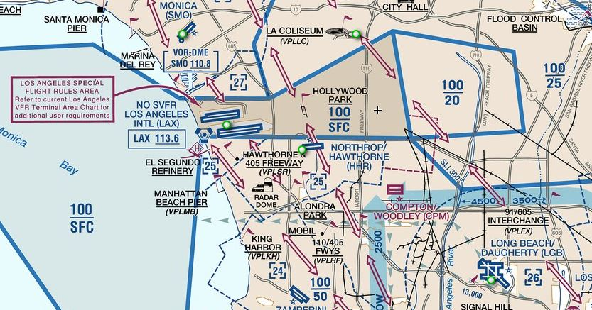Airspace Guide USA Chart Reading Tutorial CAviation - Us restricted airspace map