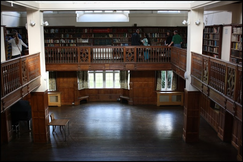 Charlton House - library from the balcony