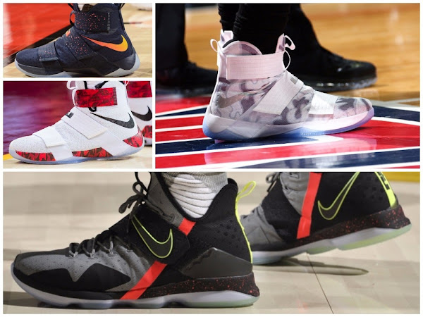 Every Shoe LeBron James Has Worn In 201617 NBA Season  Part One