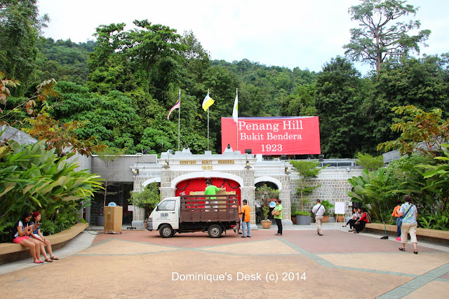 The base of Penang Hill