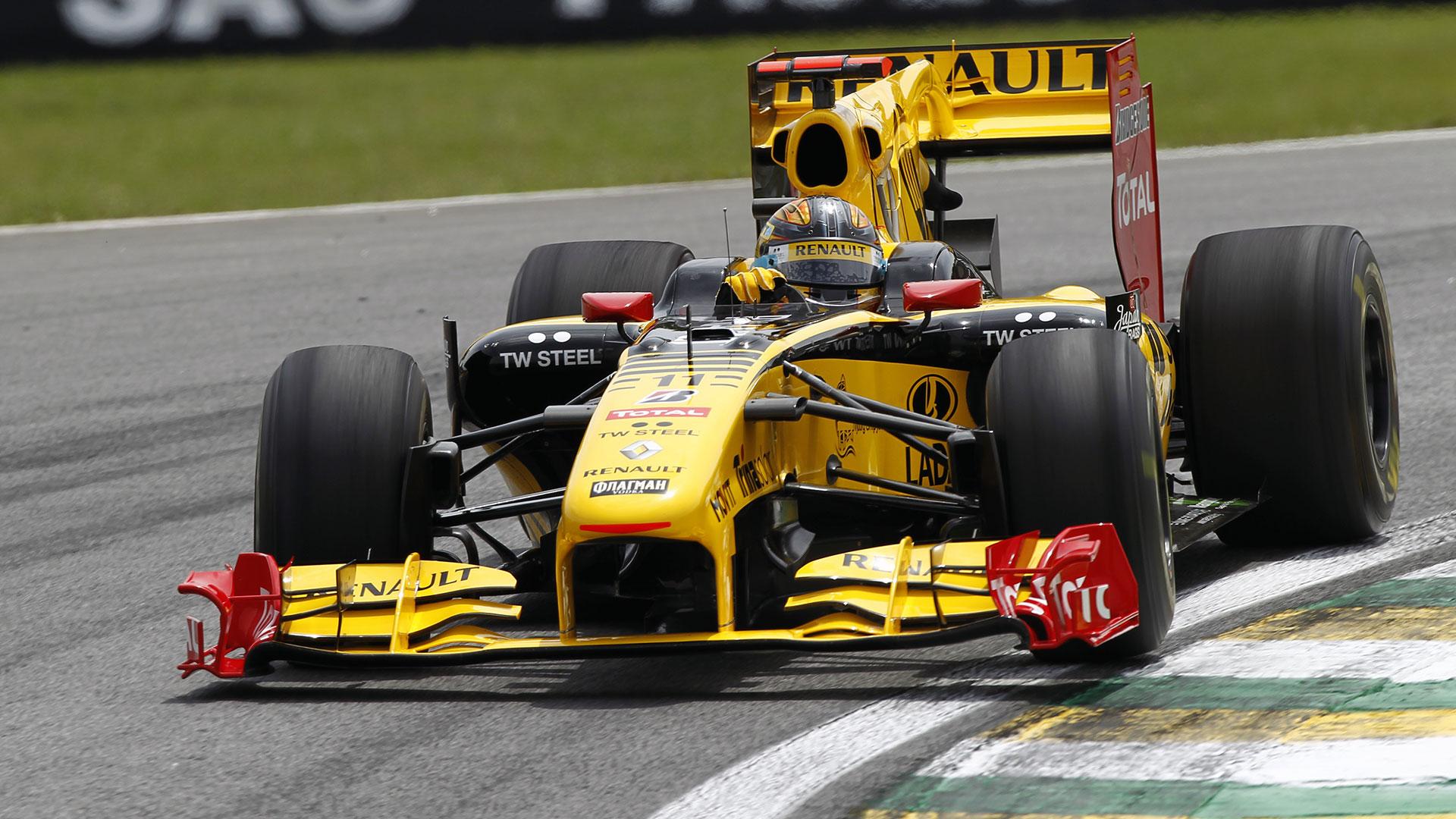 Resultado de imagen de Kubica Renault F1