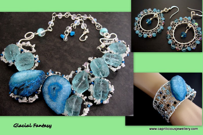 Glacial Fantasy Set by Caprilicious Jewellery