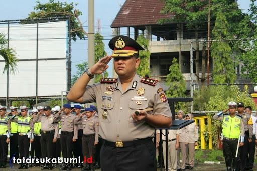 Kapolres Sukabumi Ancam Tindak Tegas Anggota Polisi yang Tidak Disiplin dan Langgar Aturan