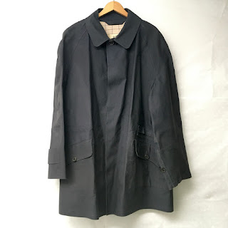 Hermès Blue Rain Coat