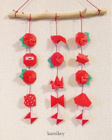 ハート 折り紙 つるし雛 折り紙 : origamilabo.blogspot.com