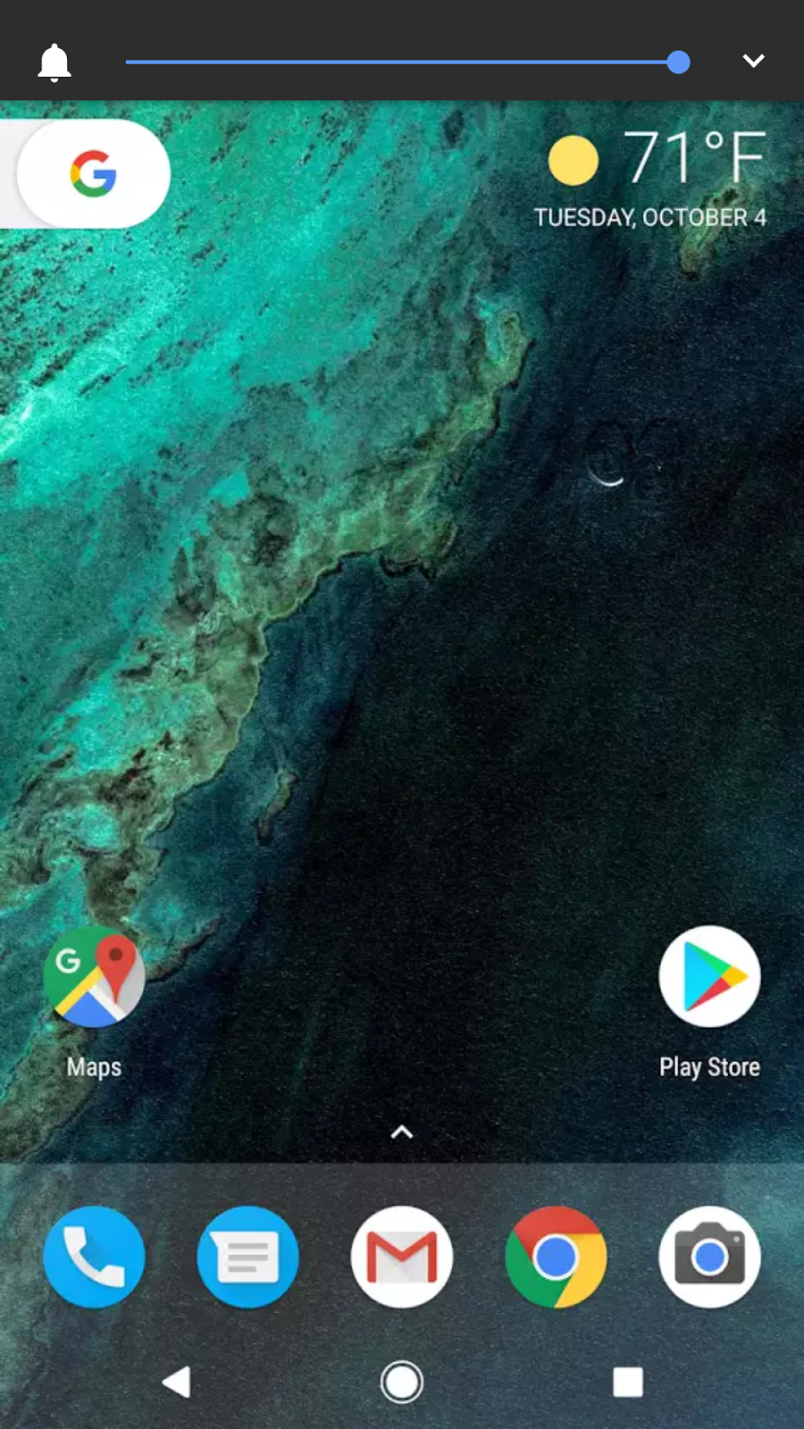 How do I get the temperature on my Pixel home screen - Google Fi Help