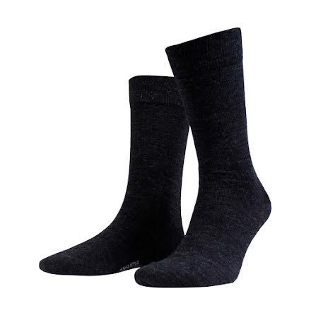 Amanda Christensen Grade ankle sock antracite melange