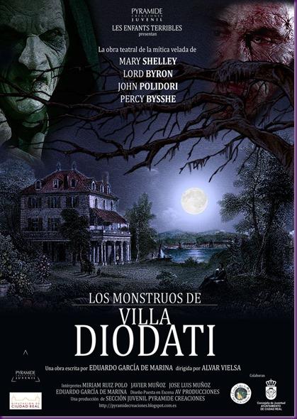 Poster Los Monstruos de Villa Diodati