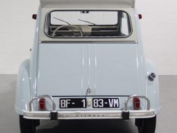 Citroën 1964 2 CV AZAM arrière avant