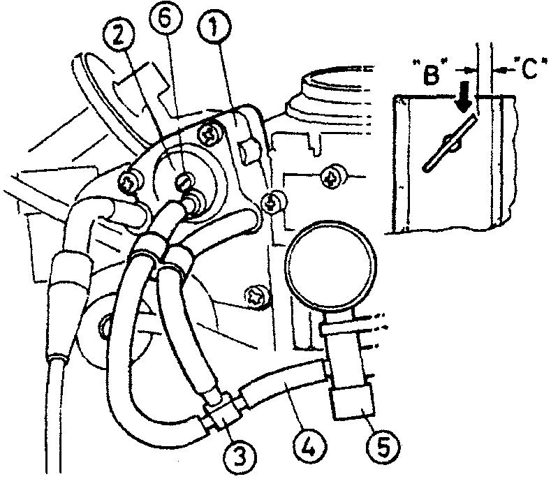 Система открытия автоматической воздушной заслонки - второе положение в двухпозиционной системе