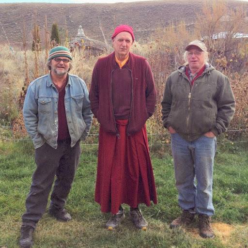 Bruce, Ven. Yarphel and Gary, November 2013