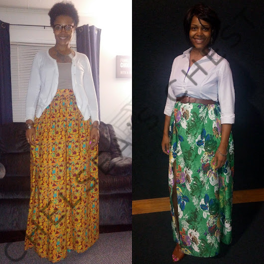 Sew with Me: A Tale of Two Skirts