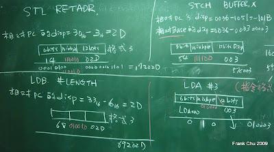 不同定址指令的目的碼計算