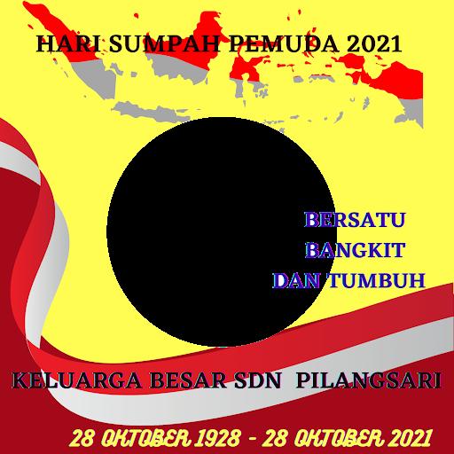Link Twibbon Sumpah Pemuda 2021 SDN Pilangsari