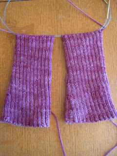 Knit Along:  Stirrup Socks from Purl Soho - Day 3 1