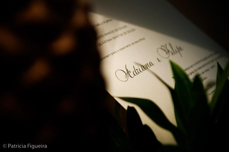 Foto de casamento 0009 de Adriana e Felipe. Marcações: 08/08/2009, Casamento Adriana e Felipe, Convite, Convite de Casamento, LS Relevografia, Rio de Janeiro.