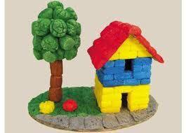 manualidades-niños-casa-material-fecula-patata-playmais