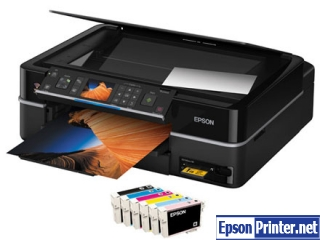 How to reset Epson TX710W printer